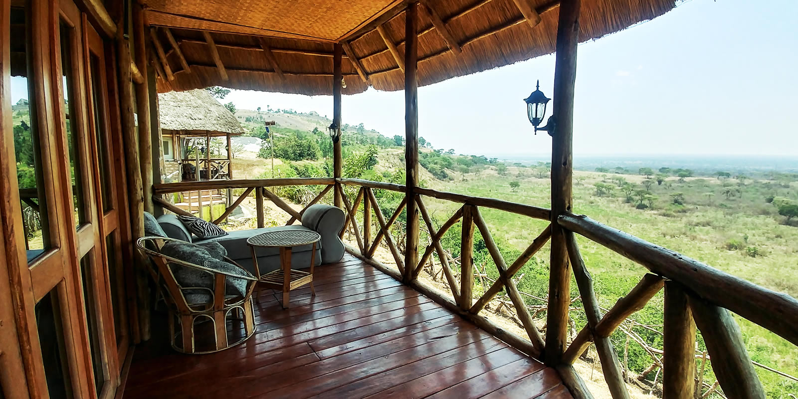 safari lodge in Queen Elizabeth national park Uganda
